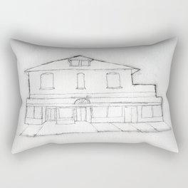 the old pharmacy Rectangular Pillow