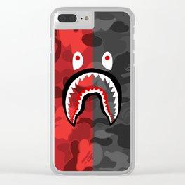 BAPE X SHARK 4 Clear iPhone Case