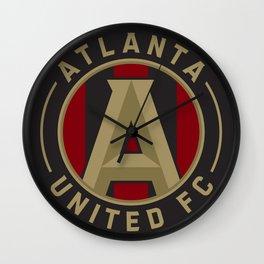 ATLANTA UNITED FC Logo Wall Clock
