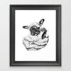 A little something sweet. Framed Art Print