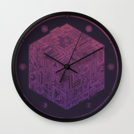 The Folly of Time and Space, Explained Wall Clock