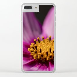 Cosmos (Cosmos Bipinnatus) is found from Paraguay to Washington a native to scrub and meadowlands Clear iPhone Case