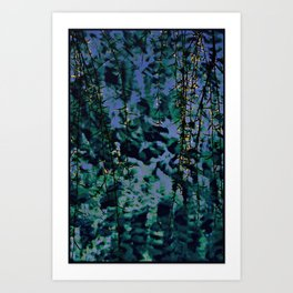 Peaceful evening Art Print