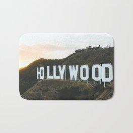 Hollywood Sign (Los Angeles, CA) Bath Mat