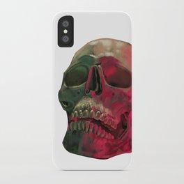 Skull Reflet iPhone Case
