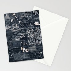 Urban art Stationery Cards