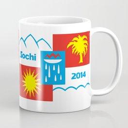 Sochi 2014 flag - Authentic version Coffee Mug