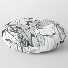 Hummingbird 2 Floor Pillow