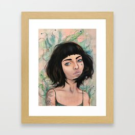 How does your Garden Grow? Framed Art Print