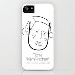 Richie 'Kern'-ingham iPhone Case
