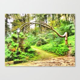 Mysterious Forest, Sintra (Portugal) Canvas Print