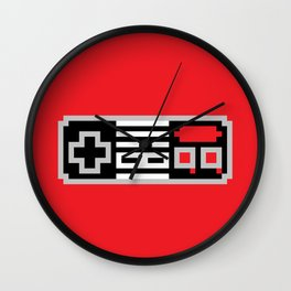Joypad Wall Clock