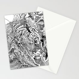 Mouth Drip Stationery Cards