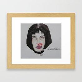 The professional   Framed Art Print