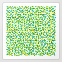 Brazilize, brasilice! #1 Art Print
