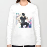 dbz Long Sleeve T-shirts featuring + DBZ - Seungri + by MitsuBlinger
