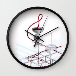 Jaleos de Mercurio Wall Clock