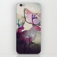 spirit iPhone & iPod Skins featuring The spirit VI by Laure.B