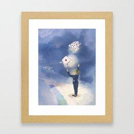 Game Player Framed Art Print