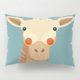 Giraffe, Animal Portrait Pillow Sham