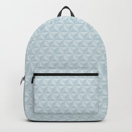 Spaceship Earth Triangles Backpack