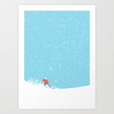 Snow_04 Art Print