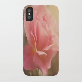 Love is much like a wild rose....... iPhone Case