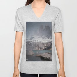 Three Towers, Chile Unisex V-Neck
