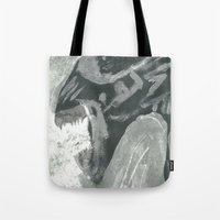 xenomorph Tote Bags featuring Resist Xenomorph by CliftJinkens