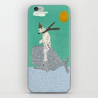 sailing iPhone & iPod Skins featuring sailing by bri.buckley