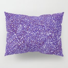 Knitted in Purple Pillow Sham