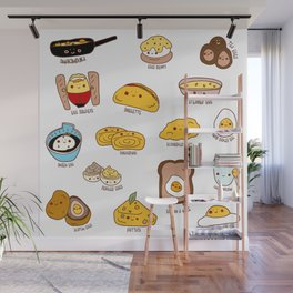 Get eggy with it Wall Mural