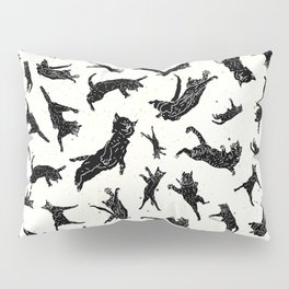 Shadow Cats Space Pillow Sham