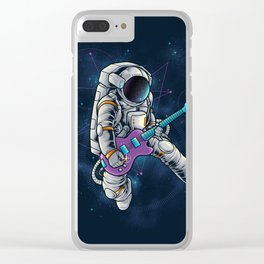 Spacebeat Clear iPhone Case