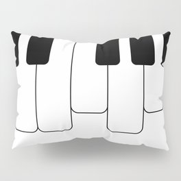 Piano keys. Playing Piano #society6 #decor #buyart #artprint Pillow Sham