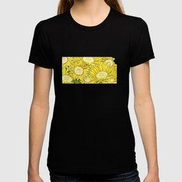 Kansas in Flowers T-shirt