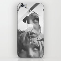 She left pieces of her life iPhone & iPod Skin