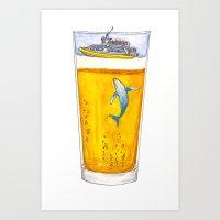 Adventure Cup Art Print