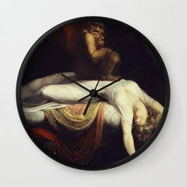 Henry Fuseli - The Nightmare Wall Clock