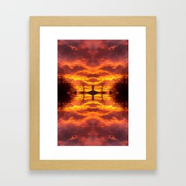 Sky within Framed Art Print
