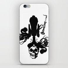 Flesh, Bone, Blood, Love iPhone & iPod Skin