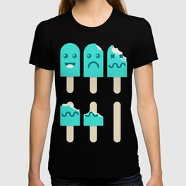 Life-sicle / Pop-sicle (AKA life cycle of the popsicle) T-shirt
