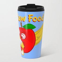 Raw Foods Food Fight Travel Mug