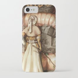 The Midwife and the Lindworm - Title Version iPhone Case