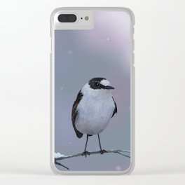 Small Bird Clinches His Buttocks Clear iPhone Case