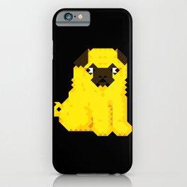 Exel Pug iPhone Case