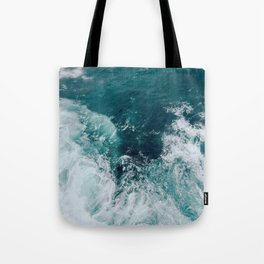 Ocean Waves (Teal) Umhängetasche
