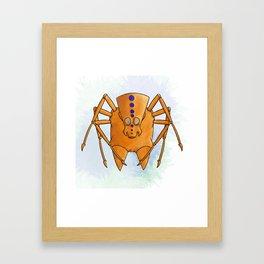 Spinal Spidabisfi Framed Art Print
