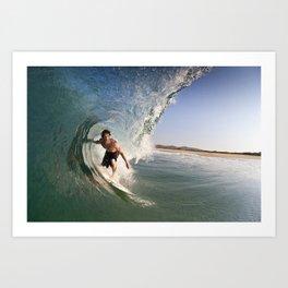 Mexico-co Surf Art Print