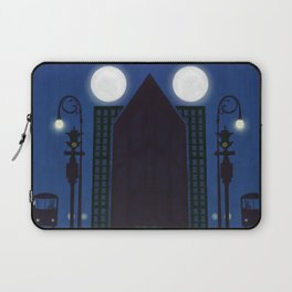 Last Stop For The Night Bus Laptop Sleeve